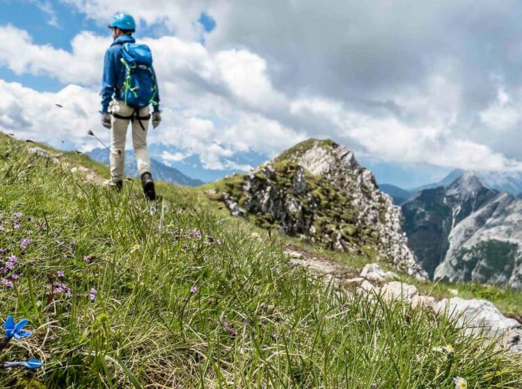 Klettersteig Im Karwendel Mit Bergfuehrer