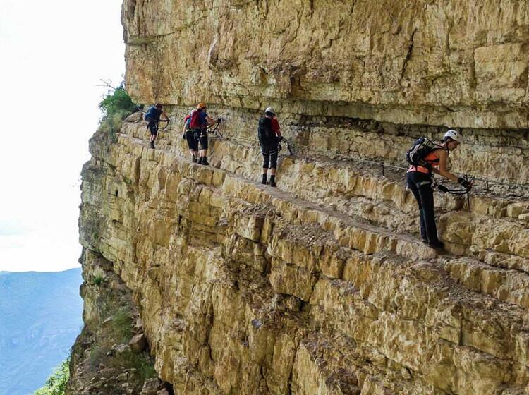 Klettersteig Gardasee : Klettersteigkurs am gardasee alpine welten die bergführer