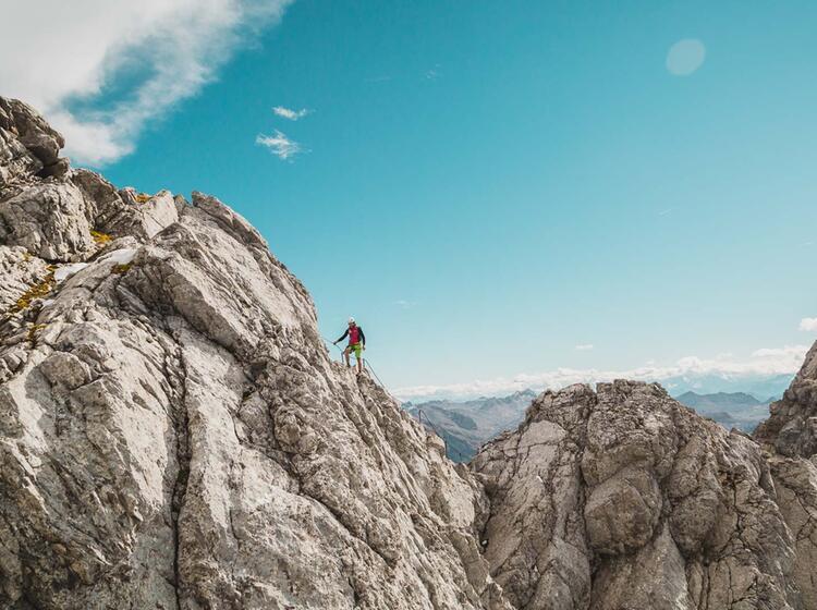 Klettersteig Ueber Den Watzmann Mit Bergfuehrer
