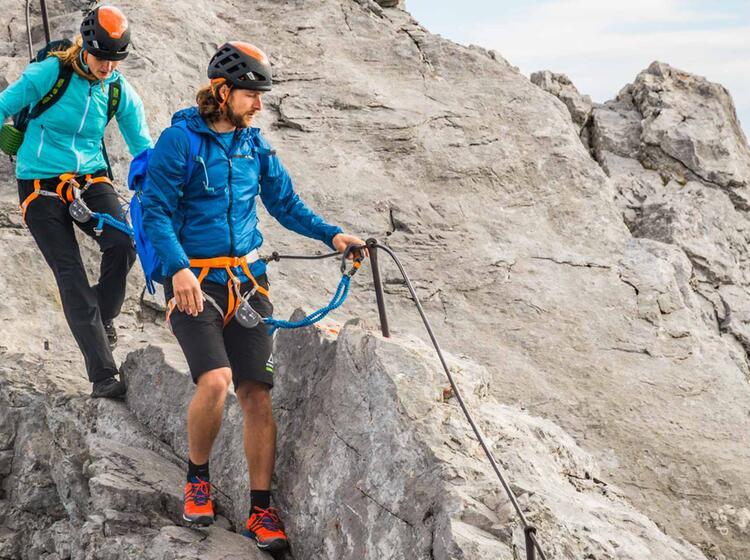 Klettersteig Und Bergtour Die Watzmannueberschreitung In Berchtesgaden