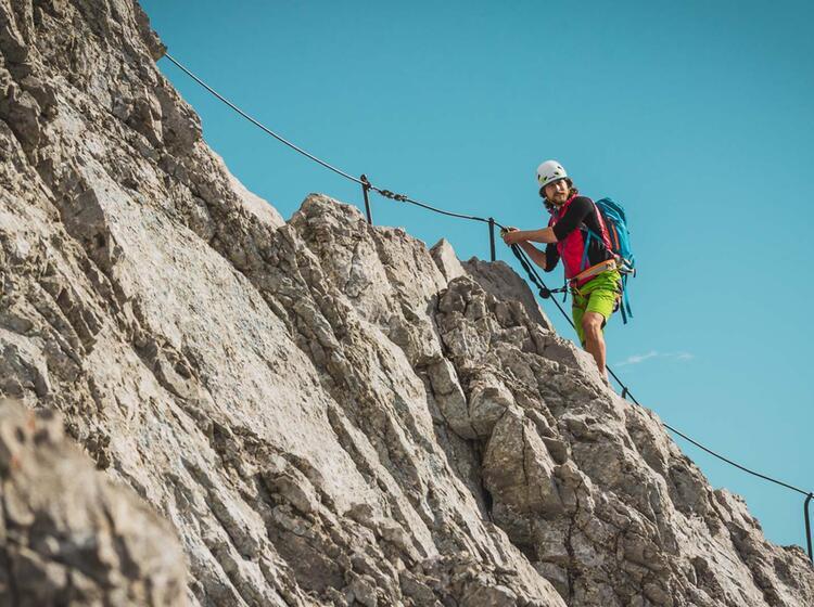 Klettersteig Watzmann Ueberschreitung