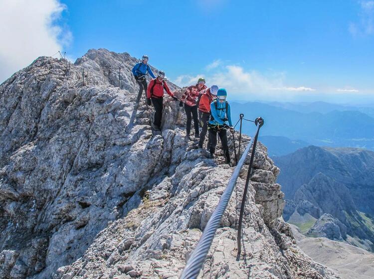 Klettersteig Zum Triglav In Slowenien