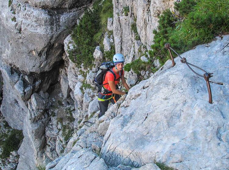 Klettersteige Am Triglav In Slowenien