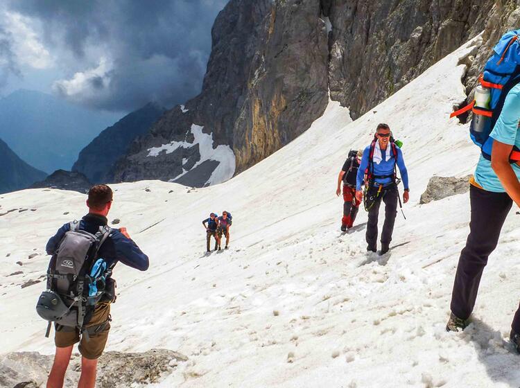 Klettersteige Mit Bergfuehrer In Den Dolomiten Brenta
