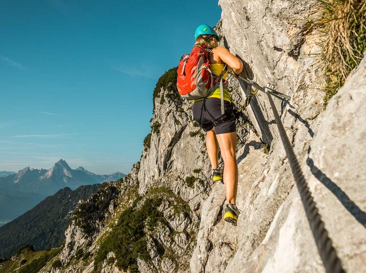 Klettersteige Mit Bergfuehrer