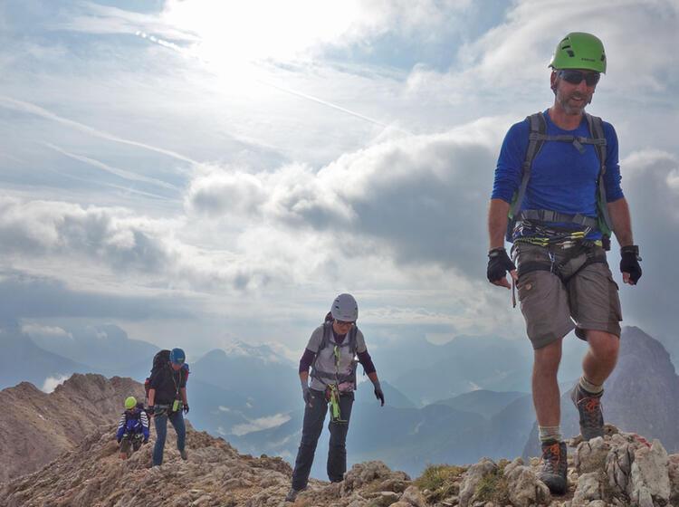 Klettersteige Rosengarten Am Grat