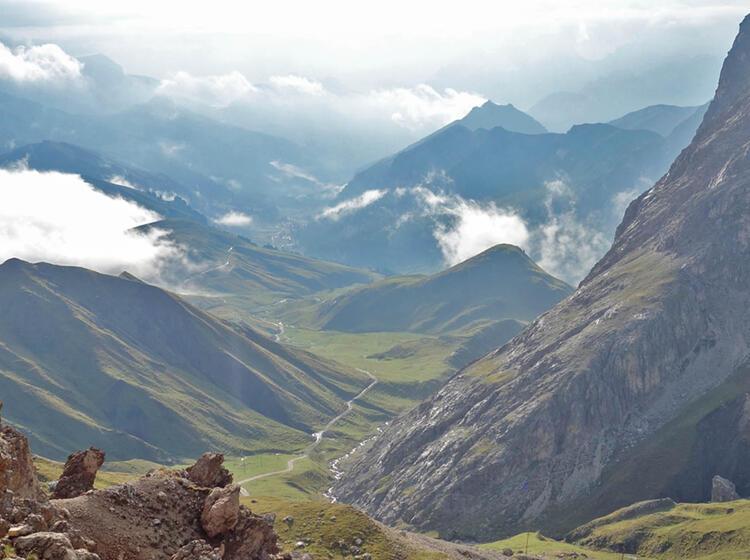 Klettersteige Rosengarten Aussicht