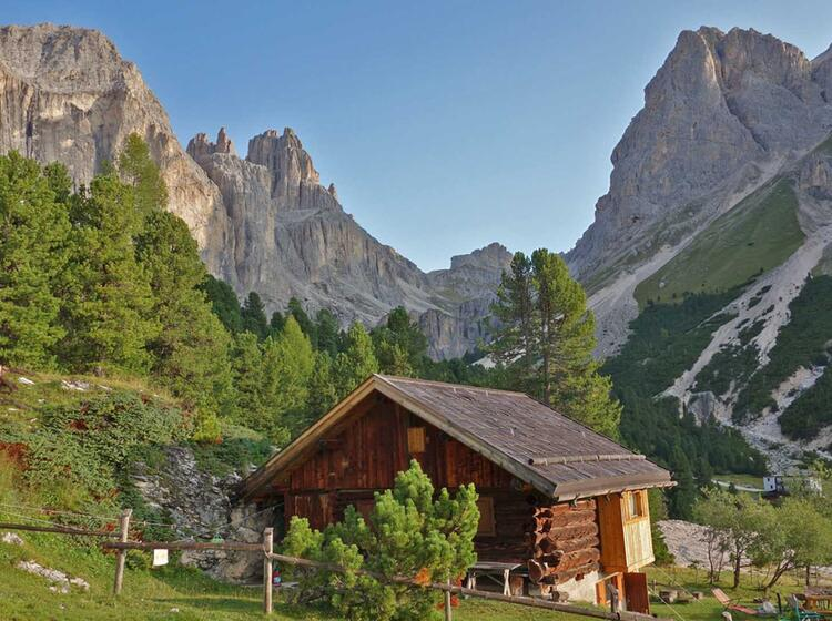 Klettersteige Rosengarten Berghu Tte