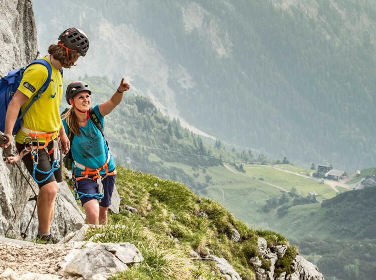 Klettersteigkurs Alpspitze
