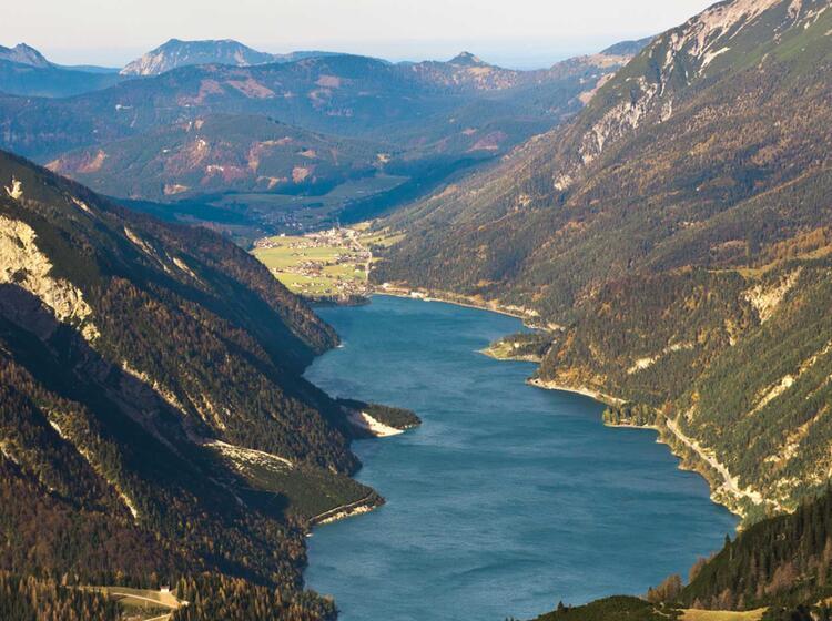 Klettersteig Achensee : Klettersteigkurs erfurter hütte rofan achensee