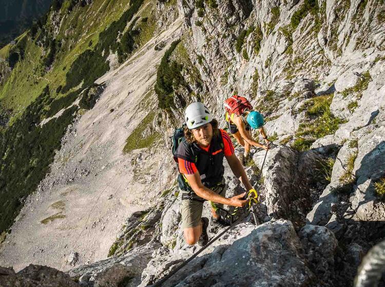 Klettersteigkurs Am Untersberg