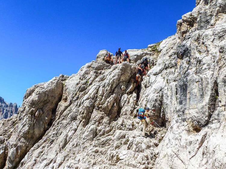 Klettersteigkurs Brenta