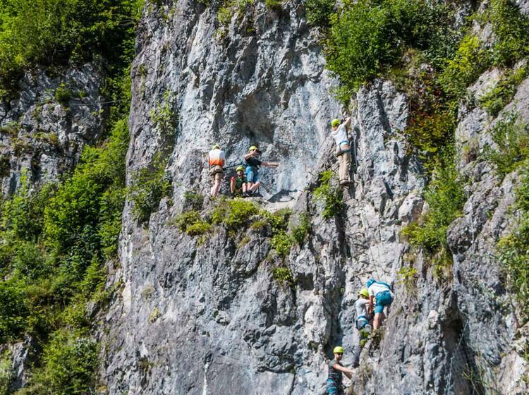 Klettersteigkurs Fuer Einsteiger In Berchtesgaden