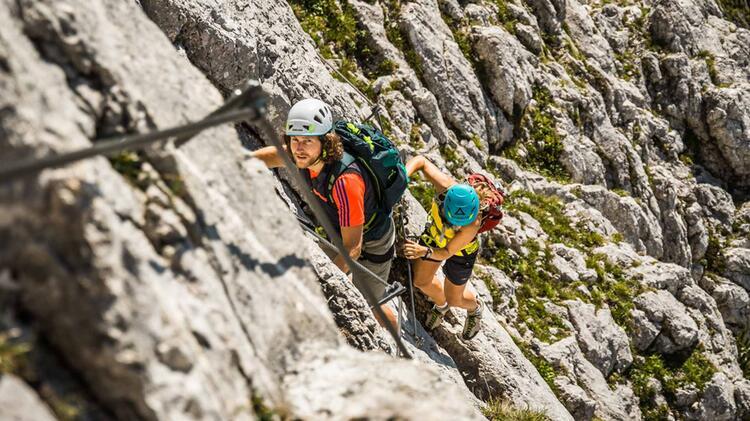 Klettersteigkurs Fuer Fortgeschrittene
