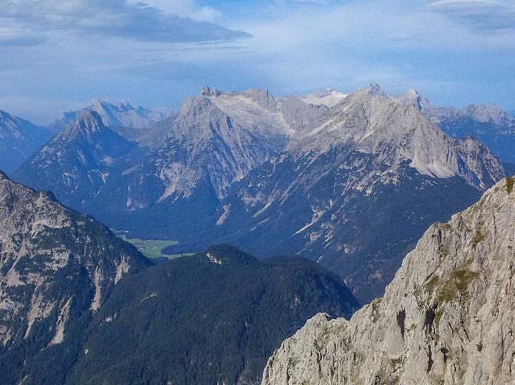 Klettersteigkurs Im Karwendel Am Mittenwalder Hoehenweg Und An Der Zugspitze