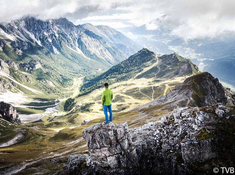 Klettersteigkurs Im Stubai Hoher Burgstall