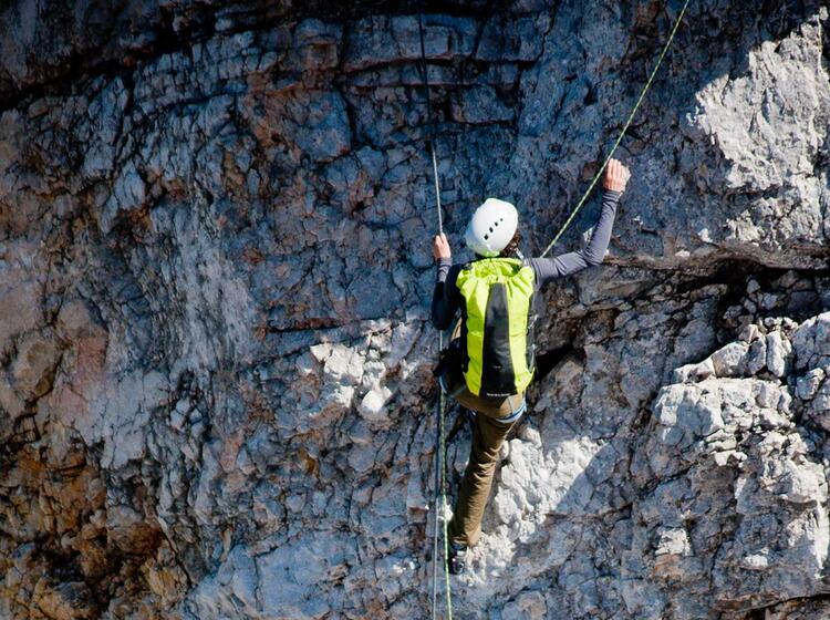 Klettersteigkurs In Garmisch Partenkirchen
