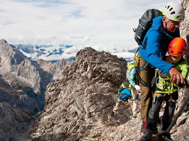 Klettersteigkurs In Garmisch