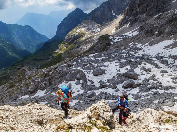 Klettersteigkurs Muenchen Brenta