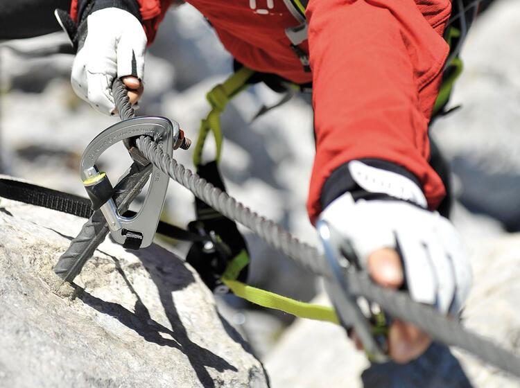 Klettersteigset Petzl Rückruf : Klettersteigset petzl das scorpio eashook