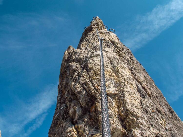 Klettersteigkurse Mit Bergfuehrer In Salzburg