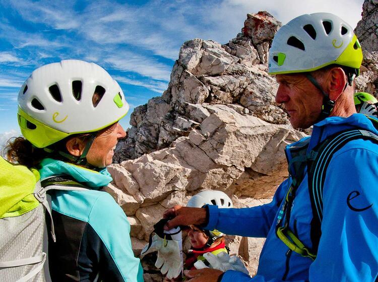 Klettersteigkurse Mit Edelrid