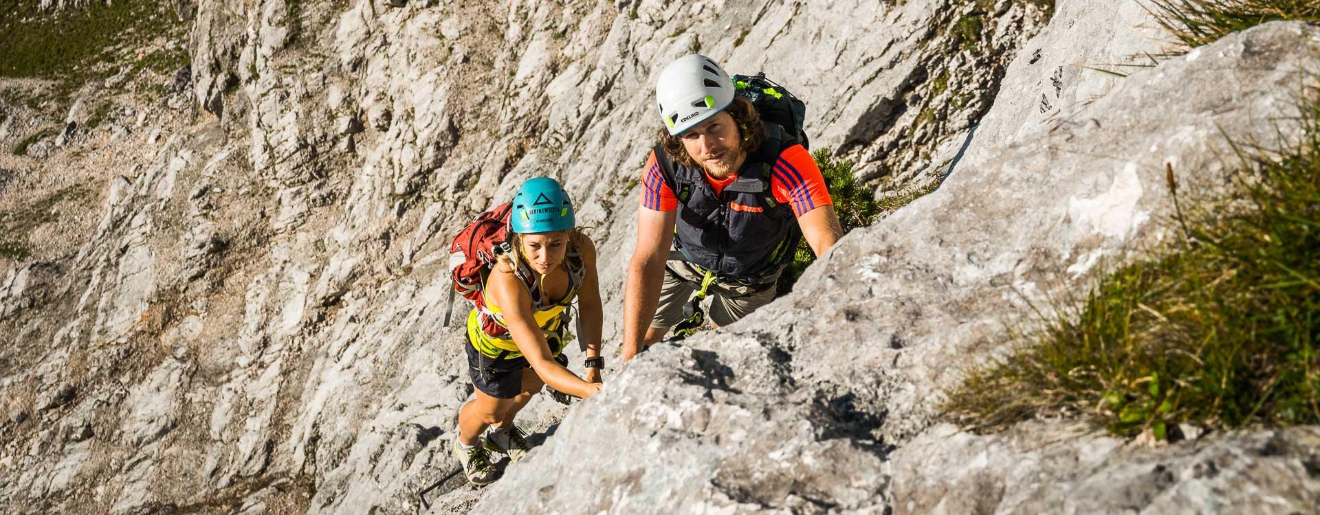 Klettersteigkurse und Fuehrungen
