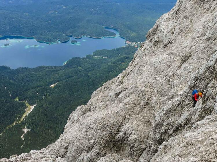 Kletterstellen Im Dritten Grad In Der Eisenzeit An Der Zugspitze