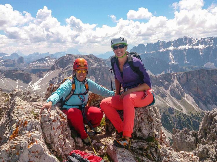 Kletterwoche Dolomiten Mit Bergfuehrer Am Sellapass