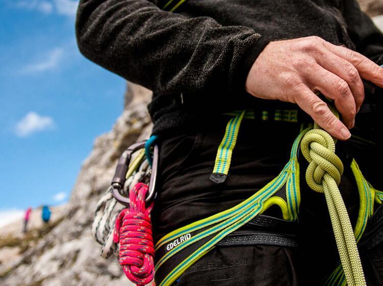 Knoten Lernen Am Kletterkurs