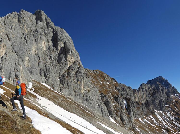 Kurs Alpinklettern Am Gimpelhaus Im Tannheimer Tal