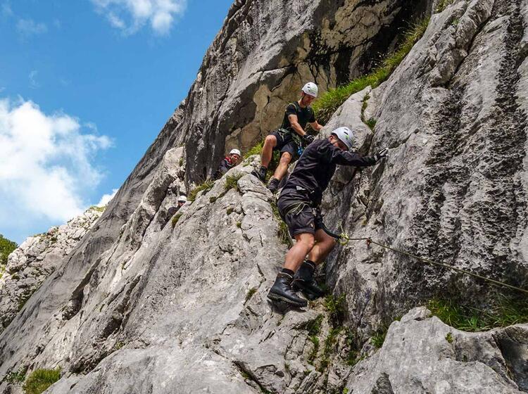 Kurs Fuer Klettersteig