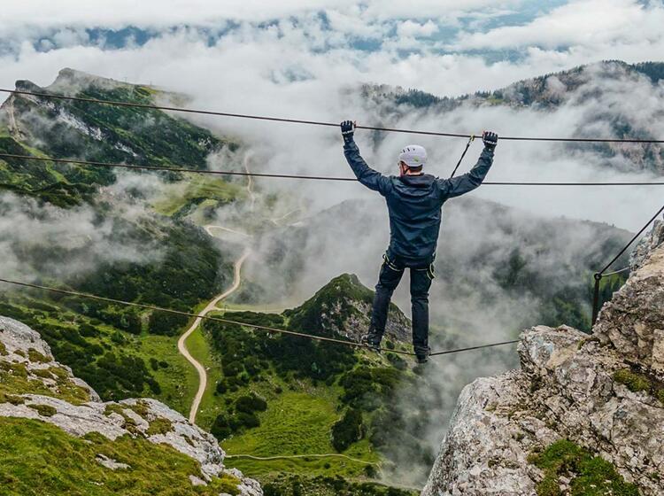 Kurs Fuer Klettersteiggehen