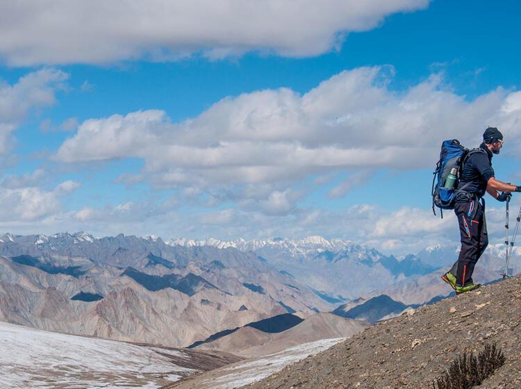 Ladakh Trekking In Einsamer Umbegung 1