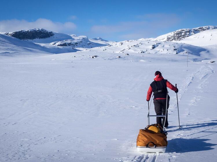 Letzte Etappe Auf Der Hardangervidda Durchquerung