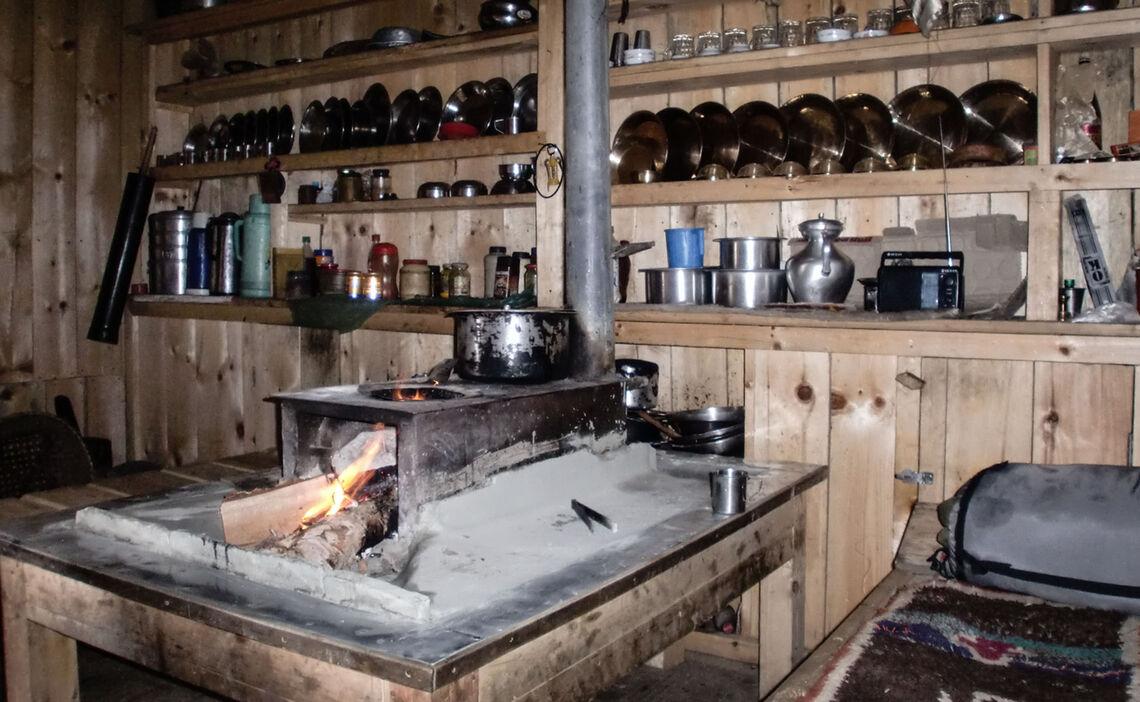 Lodgeleben In Meta Himlung Expedition