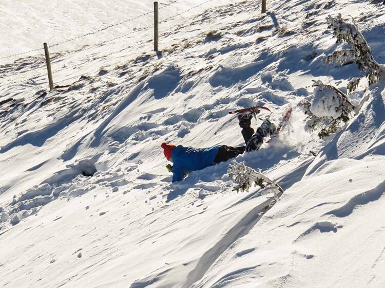 Lvs U Bung Bei Einer Schneeschuhtour Im Kleinwalsertal