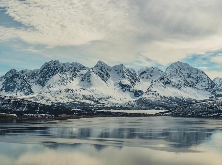 Lyngen Skitouren Reise Vom Boot In Exklusivcharter