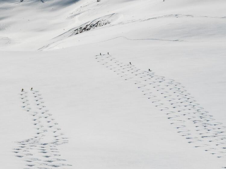 Lyngen Skitourenwoche Vom Schiff