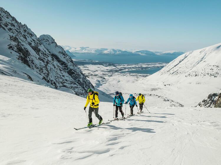Lyngenalpen Skitouren Vom Segelschiff