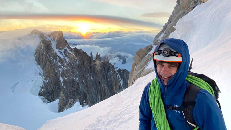 Magnus Metz Am Mont Blanc