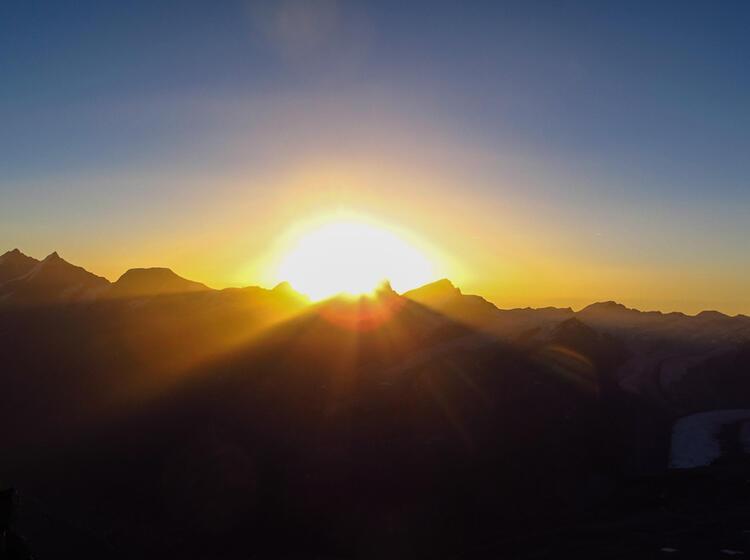 Matterhorn Fuehrung Hochtour