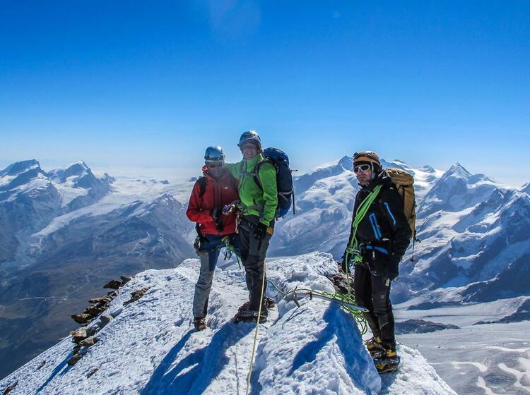 Matterhorn Gipfel Hochtour