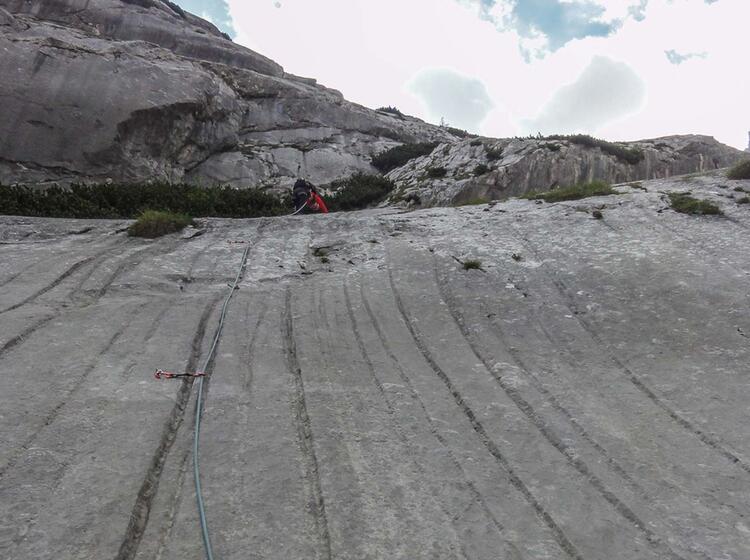 Mehrseillaengen Klettern Lernen Am Alpinkletterkurs