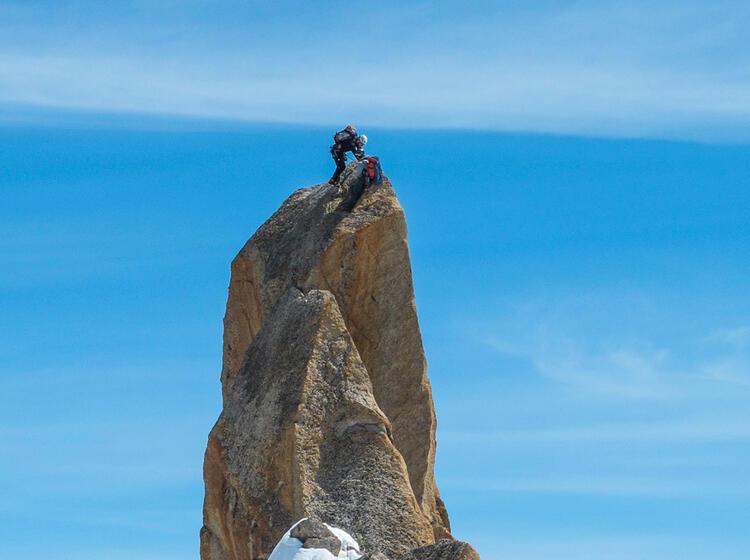 Mit Bergfuehrer Auf Hochtour In Chamonix