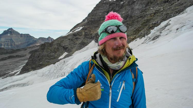 Mit Bergfuehrer Ivo Meier Auf Hochtour In Den Alpen