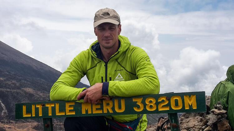 Mit Bergfuehrer Markus Beck Auf Den Kilimanjaro