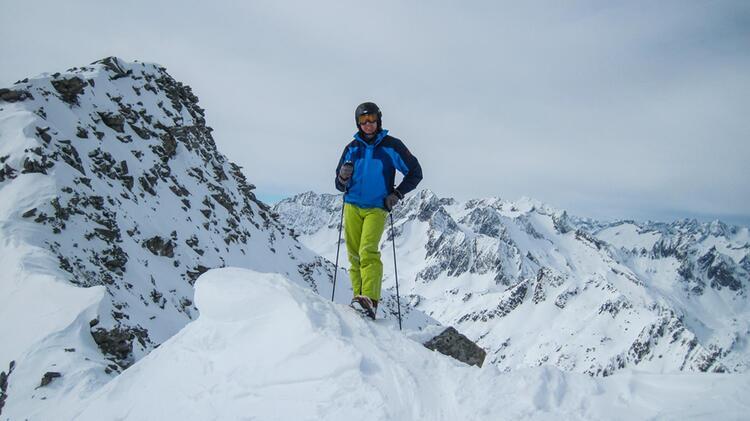 Mit Dem Bergwanderfuehrer Karlheinz Roesch Auf Die Watzmanntour In Berchtesgaden