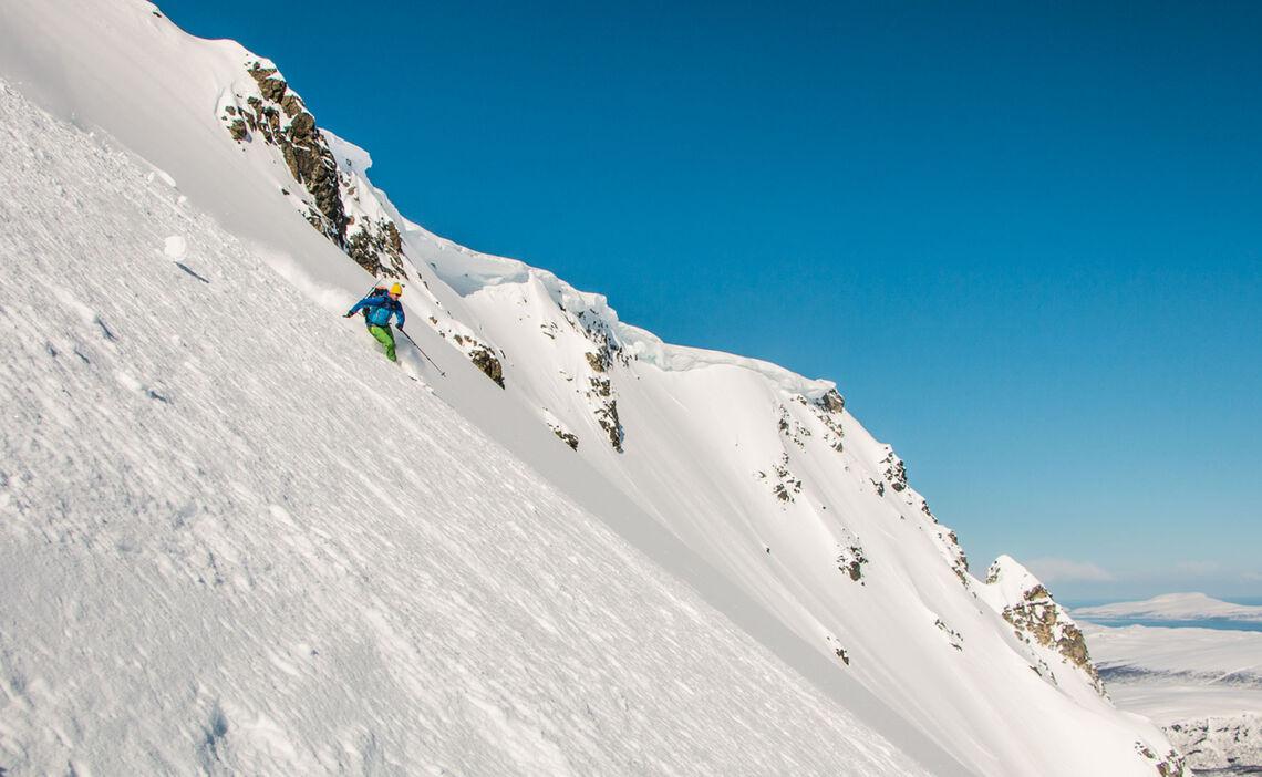 Mit Dem Schiff Zur Traumabfahrt Auf Der Skitouren Reise In Norwegen