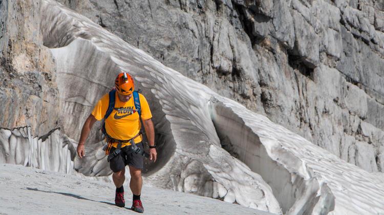 Mit Der Bergsteigerschule Zugspitze Durch Die Hochwanner Nordwand